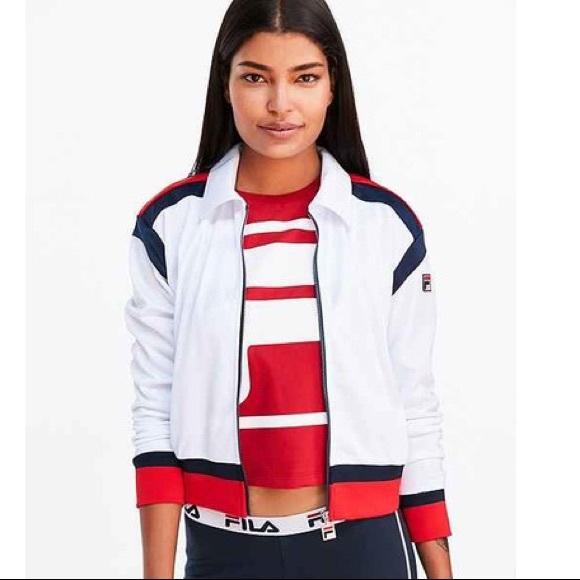 0fd870e8e92 Fila Jackets & Coats | Uo Drew Track Jacket | Poshmark